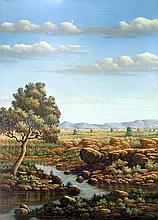 Oil on Canvas Original Landscape-20 x 27