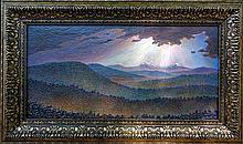 Majestic Mountains-Acrylic Original
