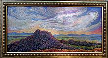 Mountain Landscape-Oil on Canvas-Terron