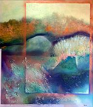 Abstract-Oil on Canvas Original -28 x 32