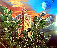 Oil on Canvas Original Arabian Nights