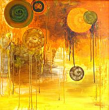 Oil on Canvas Original Abstract
