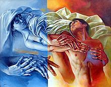 In My Dreams-Original Merinoo- 31 x 39