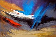 Acrylic on Canvas Origina High End Alvarez