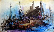 Acrylic on Canvas Original High End Alvarez