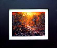 Glowing Canyon-Oil on Canvas Original Espinosa