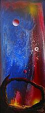 Oil on Canvas Original Espinosa-Space