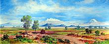 Landscape Oil Original Espinosa-Chacon
