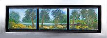 Wilderness Forrest-Acrylic on Canvas High End Original Parra