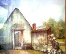 Watercolor on Archival Paper Original Ascencio
