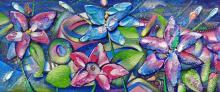 Flowering-Original Acrylic on Canvas