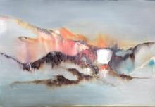 32 x 47-Oil Original Nicole Denaire Saudemont