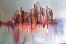 32 x 31-Oil Original Nicole Denaire Saudemont