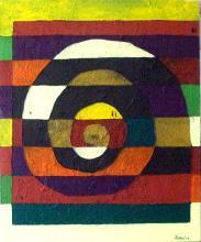 Acrylic & Marble Dust on Canvas Original by Ferro