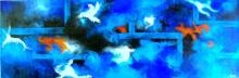 Blue Sky Clearance-Mixed Media Original Ferro