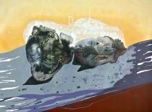 Mixed Media on Canvas -Leonor Hochschild-Organic Artist