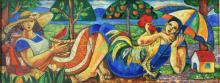 Oil on Canvas High End-Aida Emart-Impressionist Artist