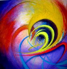 Original Mixed Media-High End Mexican Master-Modern Art