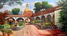 Oil on Canvas Original High End Angeli