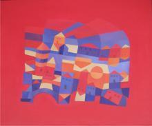 American Artist-Elizabeth Net-Acrylic on Canvas Original