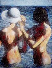 Summer Modern Art Revue-High End Original Art