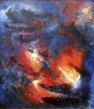 In Blue -Original Acrylic on Canvas- Gonzalez Parcero
