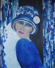 Lady Blue Original Nicole Denarie Saudemont