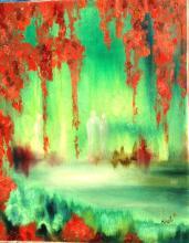 Oil on Canvas High End-Nicole Denaire Saudemont-Floral Art