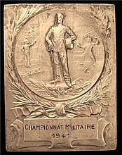 France: Military Chempionnat 1941 Silver Medal.