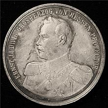 Germany: 1899  Silver Shooting Medal. Proof-like AU.