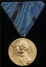 Serbia : 1903 Election Medal of Peter I.