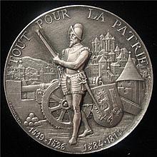 Swiss: 1887 Shooting Fest Geneva  Medal. R-628B.