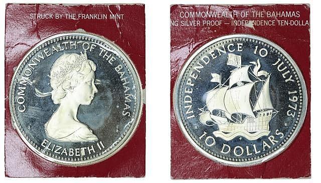 Bahamas - 10 Dollars 1973