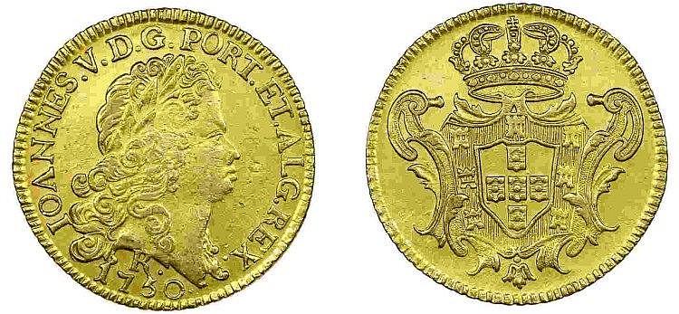Brazil - D. João V - Peça 1750 R