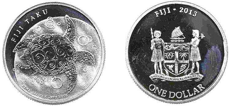 Fiji - Dollar 2013