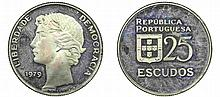 Portugal - Republic - 25$00 1979, Proof
