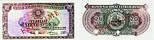 Paper Money - Timor 20 Avos 1948 ESPÉCIME