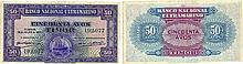 Paper Money - Timor 50 Avos 1940