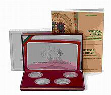 Portugal - Republic - 4 coins, 200$00 1999