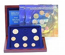 Portugal - Republic - 24 coins, Series BNC and PROOF 2002