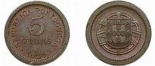 Portugal - Republic - 5 Centavos 1920