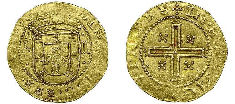 Portugal - D. Filipe III - 4 Cruzados nd, RARE
