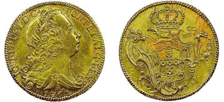 Brazil - D. José I - Peça 1761 R