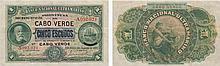 Paper Money - Cape Verde 5$00 1921