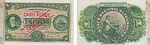 Paper Money - Cape Verde 1$00 1921 SPECIMEN