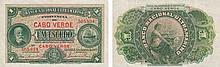Paper Money - Cape Verde 1$00 1921