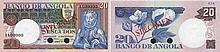 Paper Money - Angola 20$00 1973 SPECIMEN