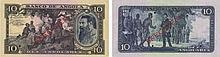 Paper Money - Angola 10 Angolares 1946 SPECIMEN