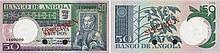 Paper Money - Angola 50$00 1973 SPECIMEN