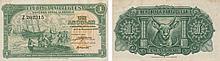 Paper Money - Angola 1 Angolar 1948